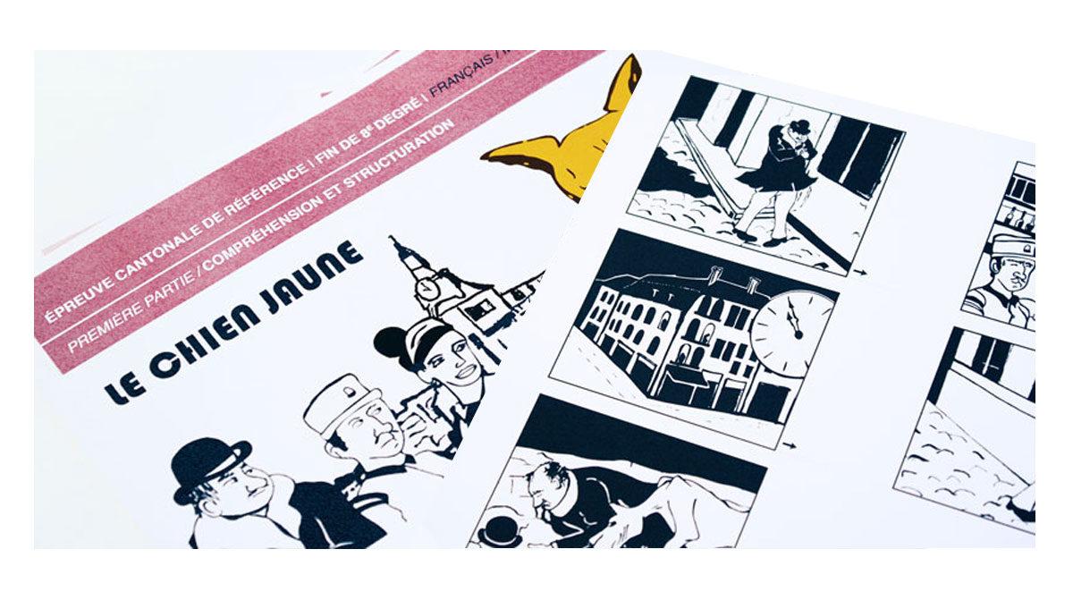 Etat de Vaud, illustrations par l'agence Zedcom