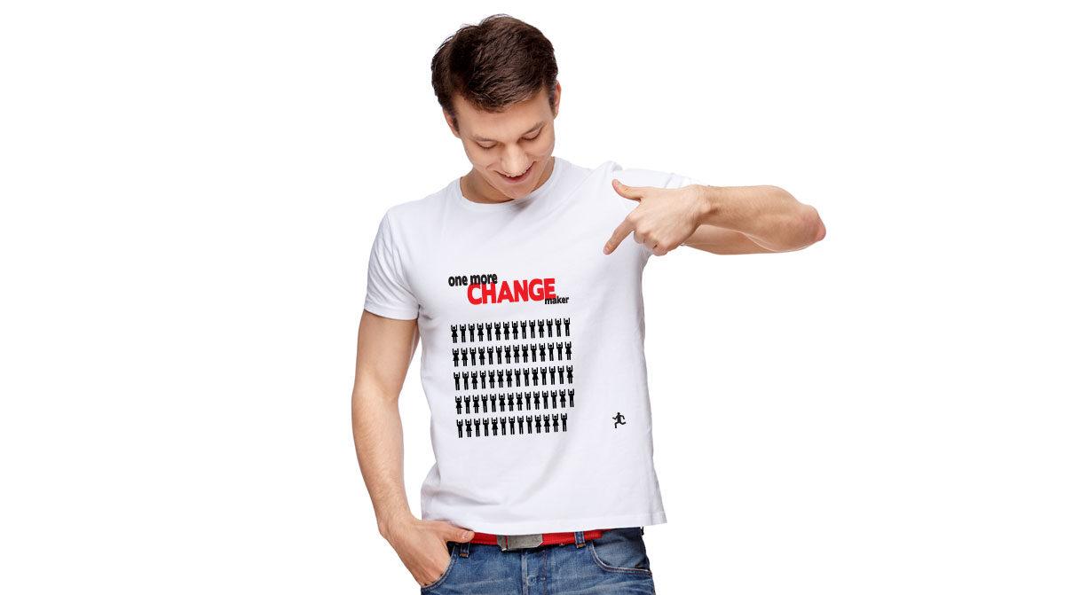 Euforia, design de t-shirt réalisé par l'agence Zedcom