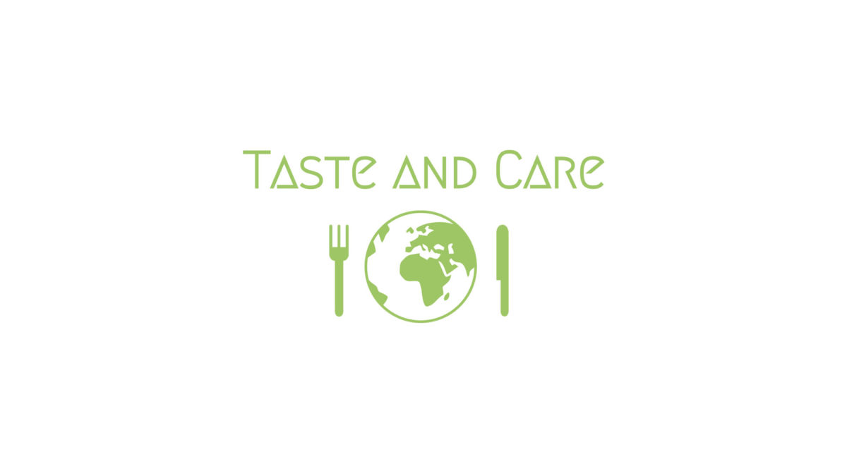 Logo de Taste and Care, identité visuelle par Zedcom