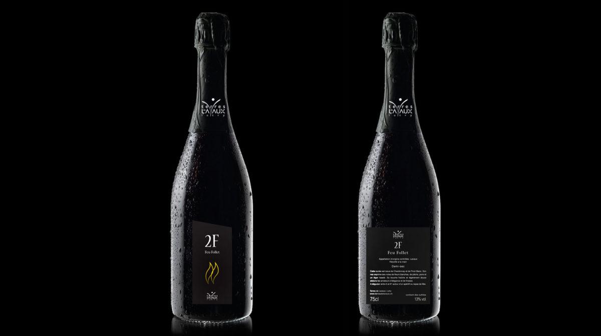 étiquette de vin 2f de Terres de Lavaux, Zedcom